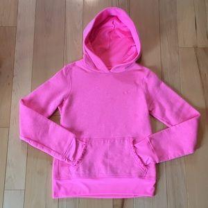 Pink Champion Hoodie - Girls Large (10/12)